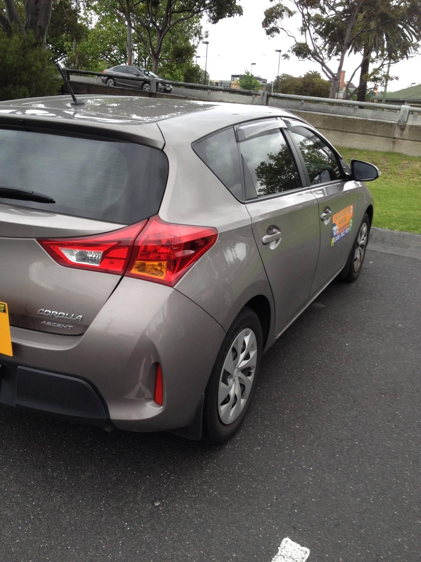 Driving School Keilor - Toyota Corrolla Hatch -  Automatic Transmission