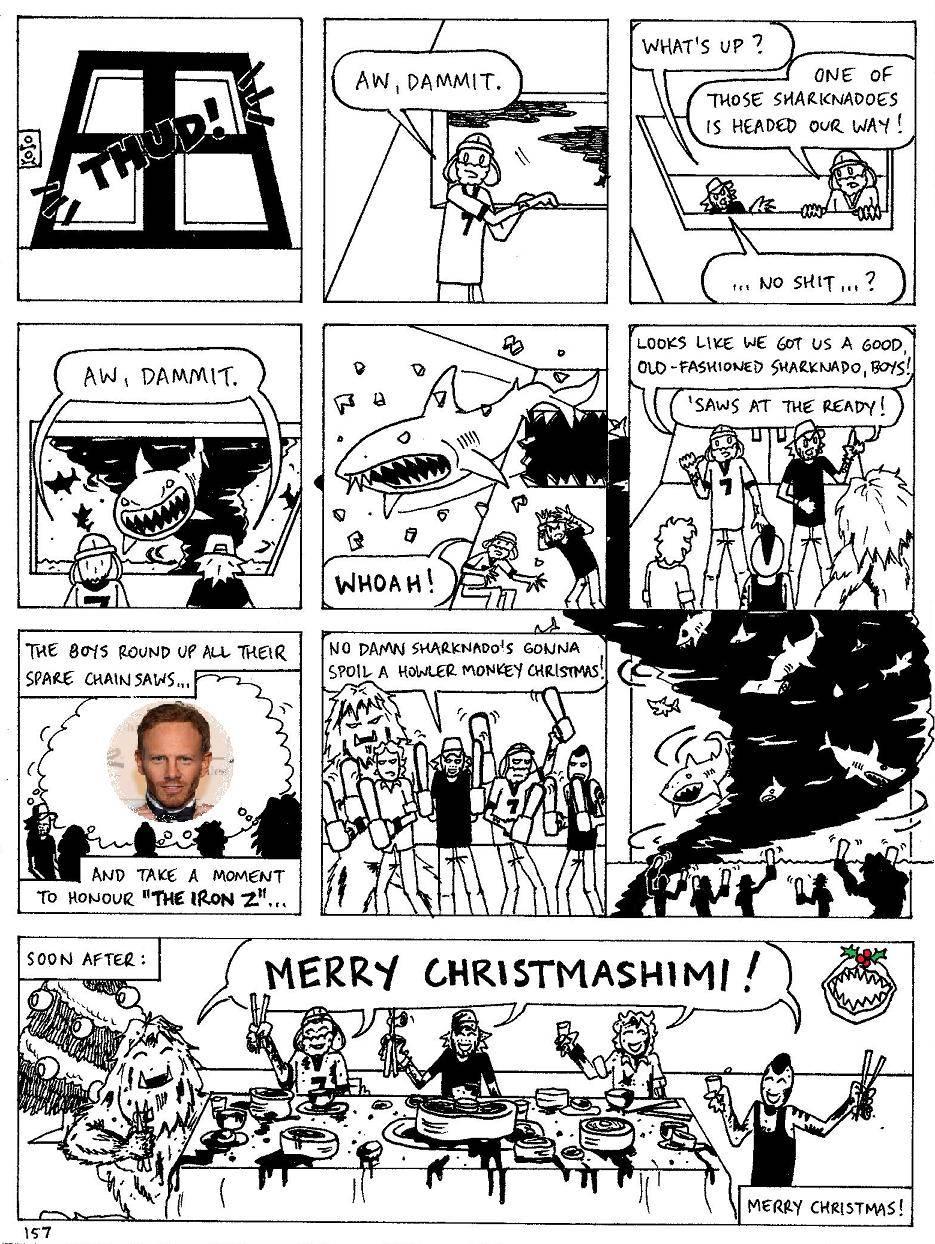 Episode 157 - The Howler Monkeys in 'A Very Sharknado Christmas'