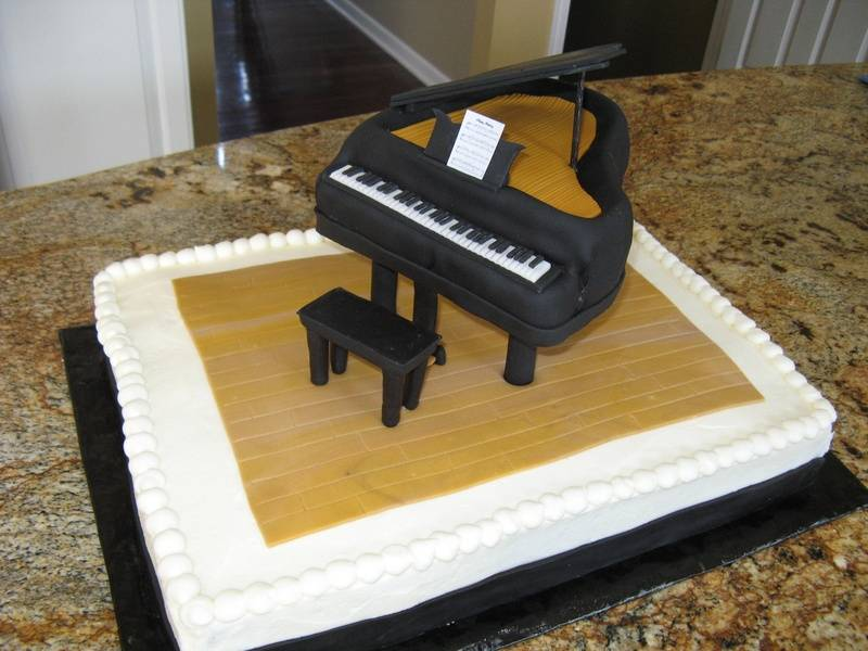 30th Birthday Grand Piano