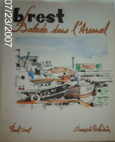 "LIVRE ""Brest Ballade dans l'Arsenal"""