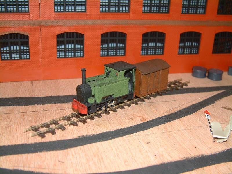 Chivers Avonside on a SWB 0-4-0 by Andy Hardy
