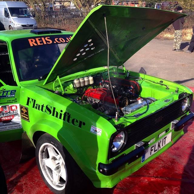 MK2 Escort rally car using Expert system.