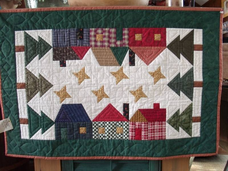 Christmas Village Quilt