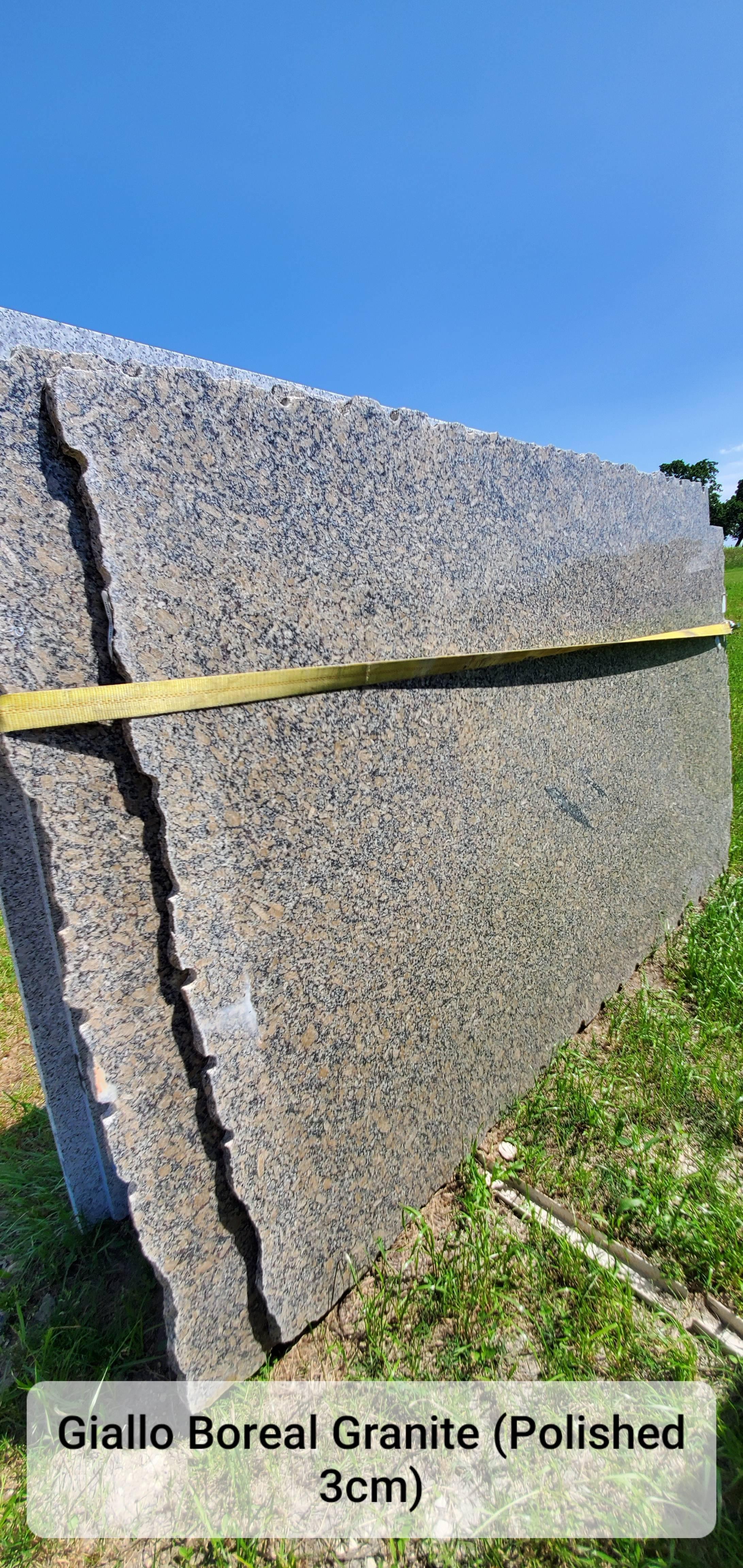 Giallo Boreal Granite (P 3CM)
