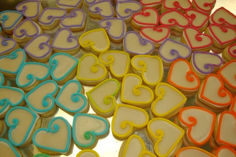 Mini hearts $1 each