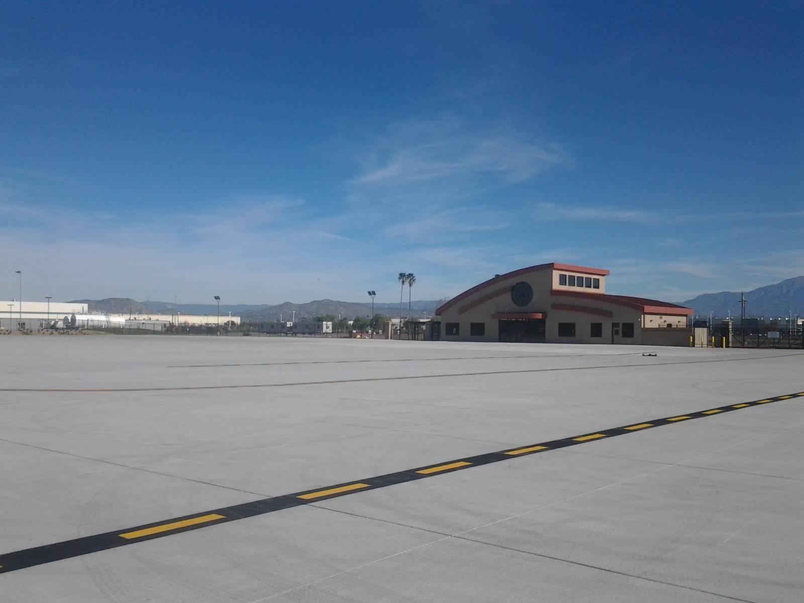 Apron View of Terminal