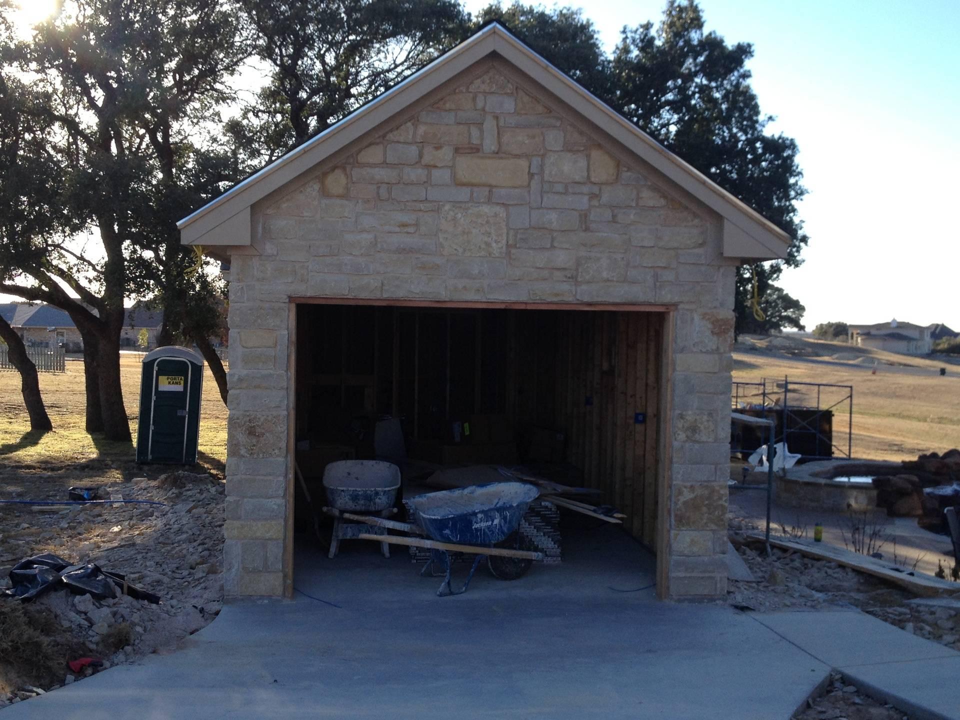 garage getting close