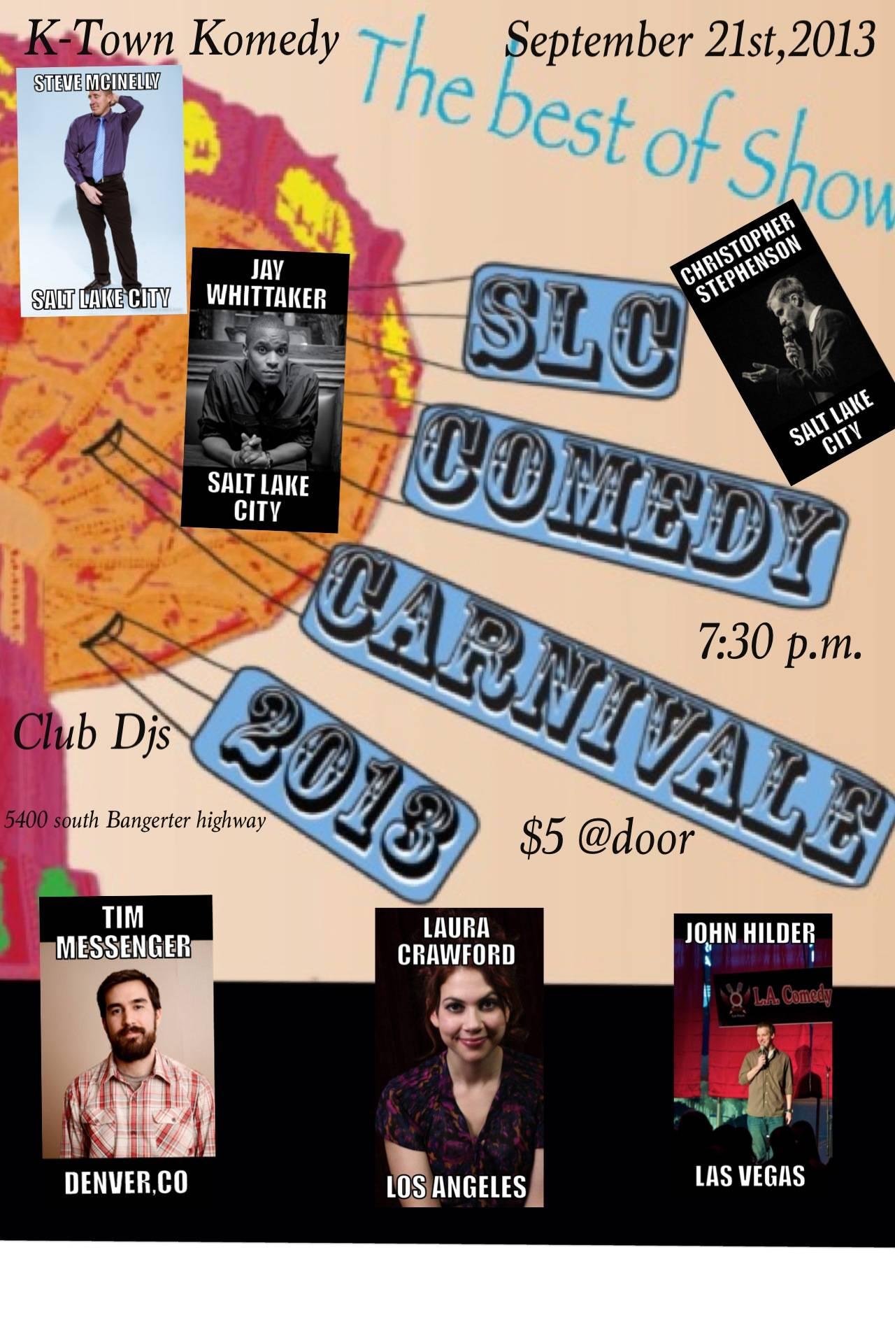 SLC Comedy Carnivale
