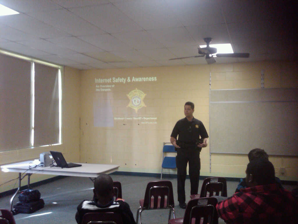 Richland County Sherriff's Office sharing info