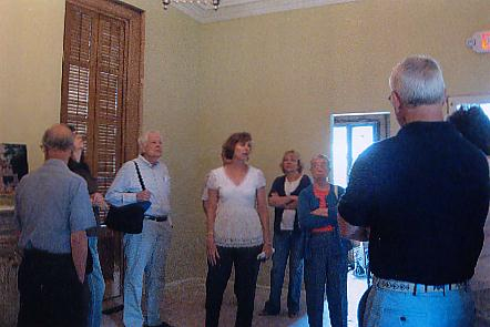 Tour of the Interior of the Schoolcraft Cultural Center