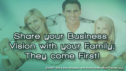 Your Family should know your Business Vision