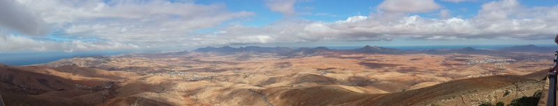 Panoramic view from Mirrador