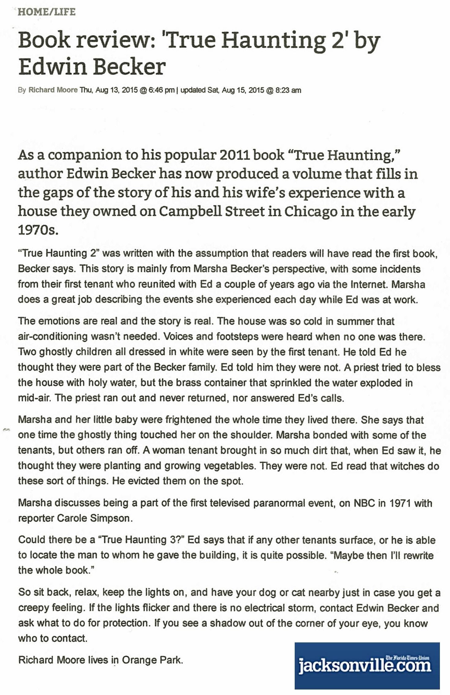 True HAunting 2, Florida review