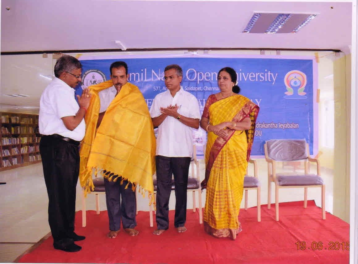 Tamilnadu Open University, Chennai