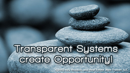 Transparent Systems and Opportunity