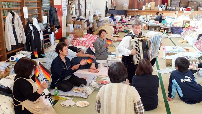 Wohos Sendai Tour with the German Embassy