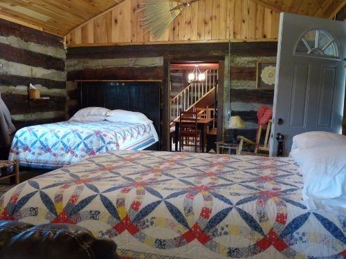 Beds on ground floor