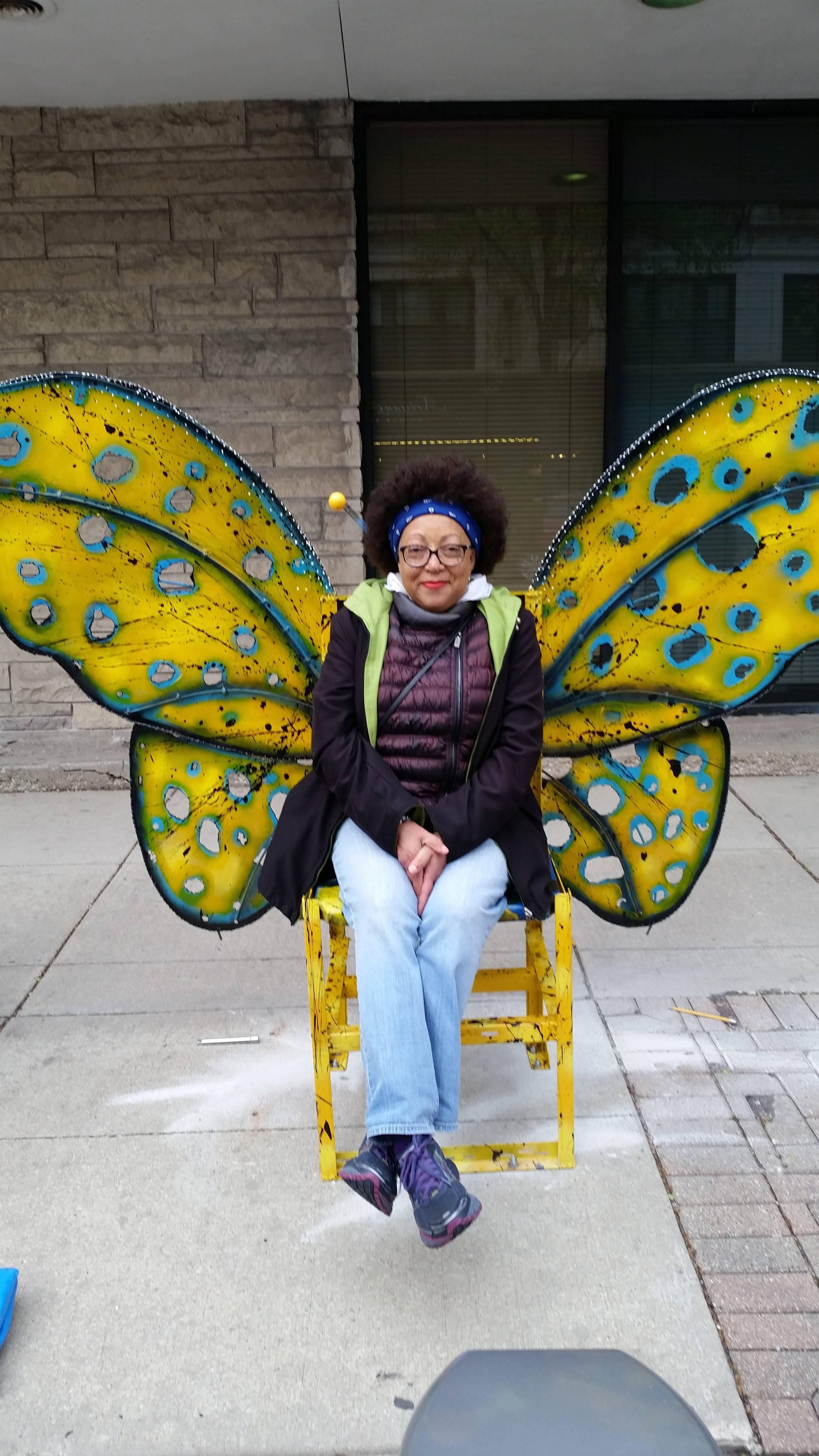 Etu butterfly chair