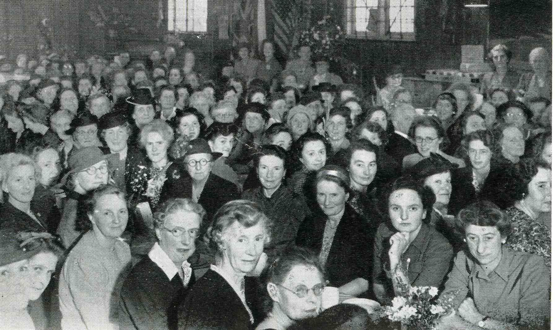 Women's Auxiliary Ladies meeting