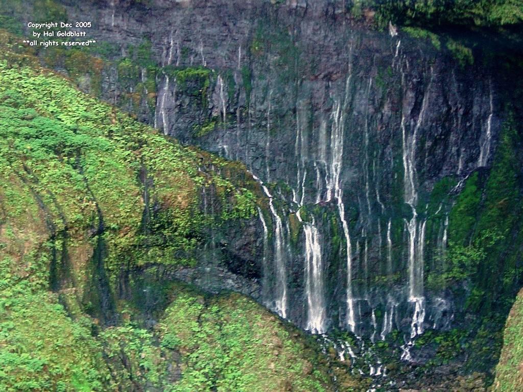 Mt. Waialeale waterfall