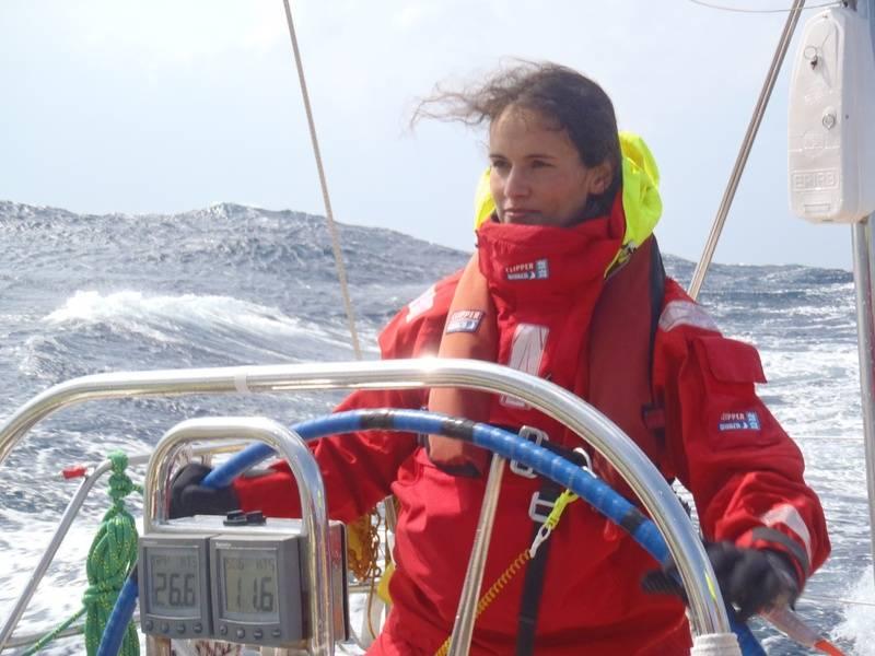 helming Edinburgh, Clipper 11-12, North Pacific