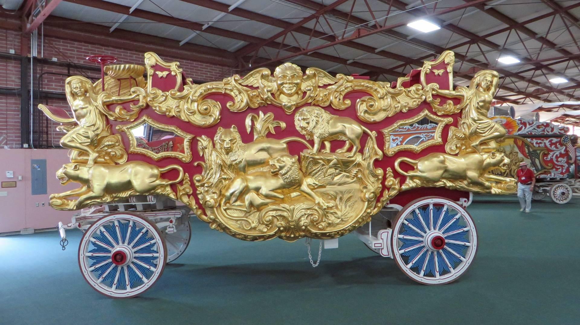 Circus World wagon