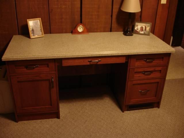 craftsman cherry desk