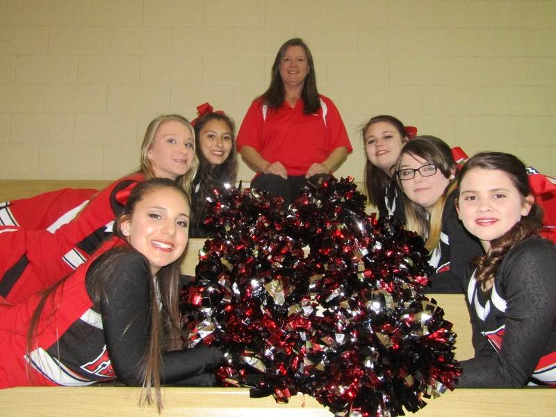 Varsity Squad & Coach Briscoe