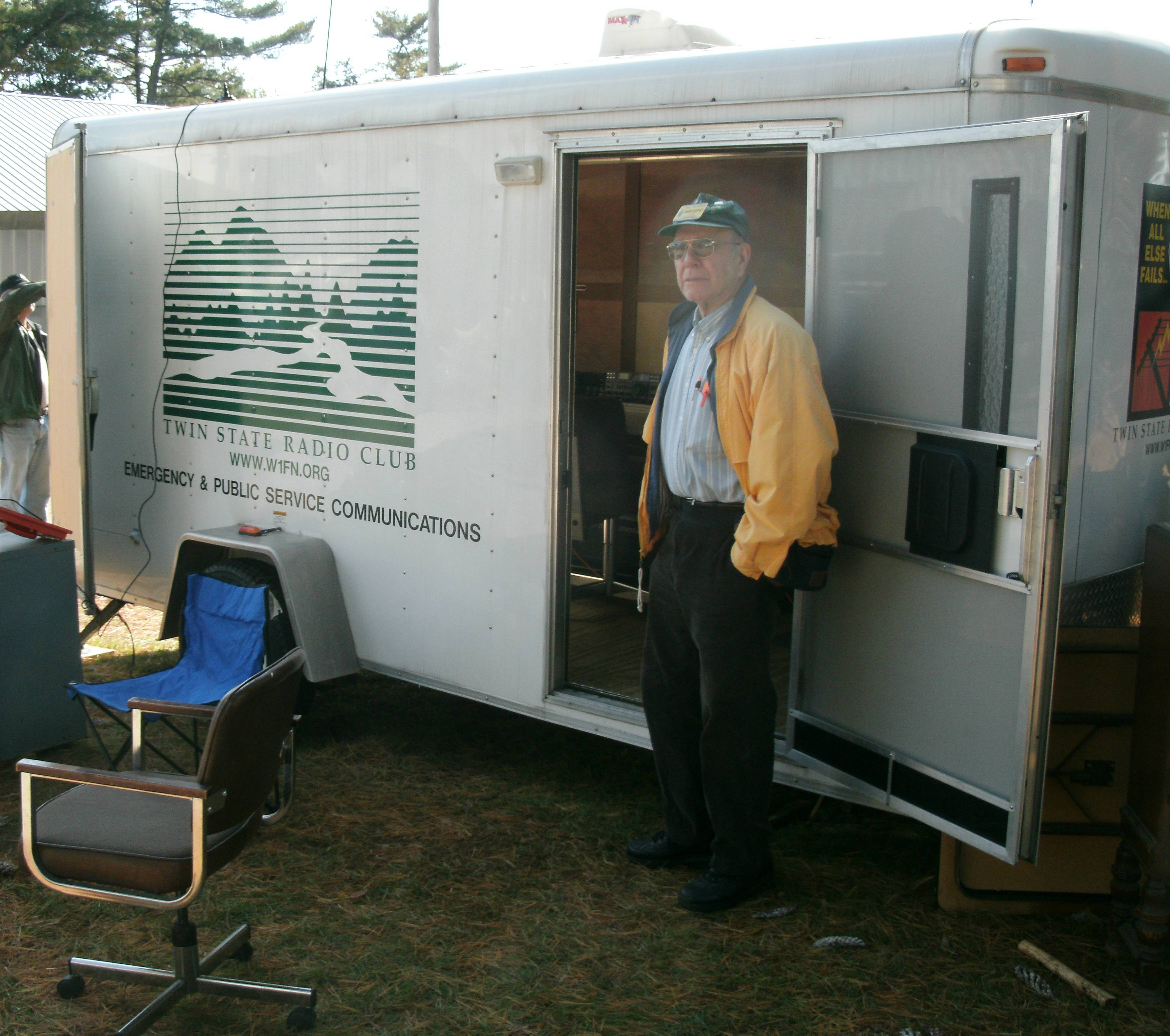 The trailer at NEAR Fest