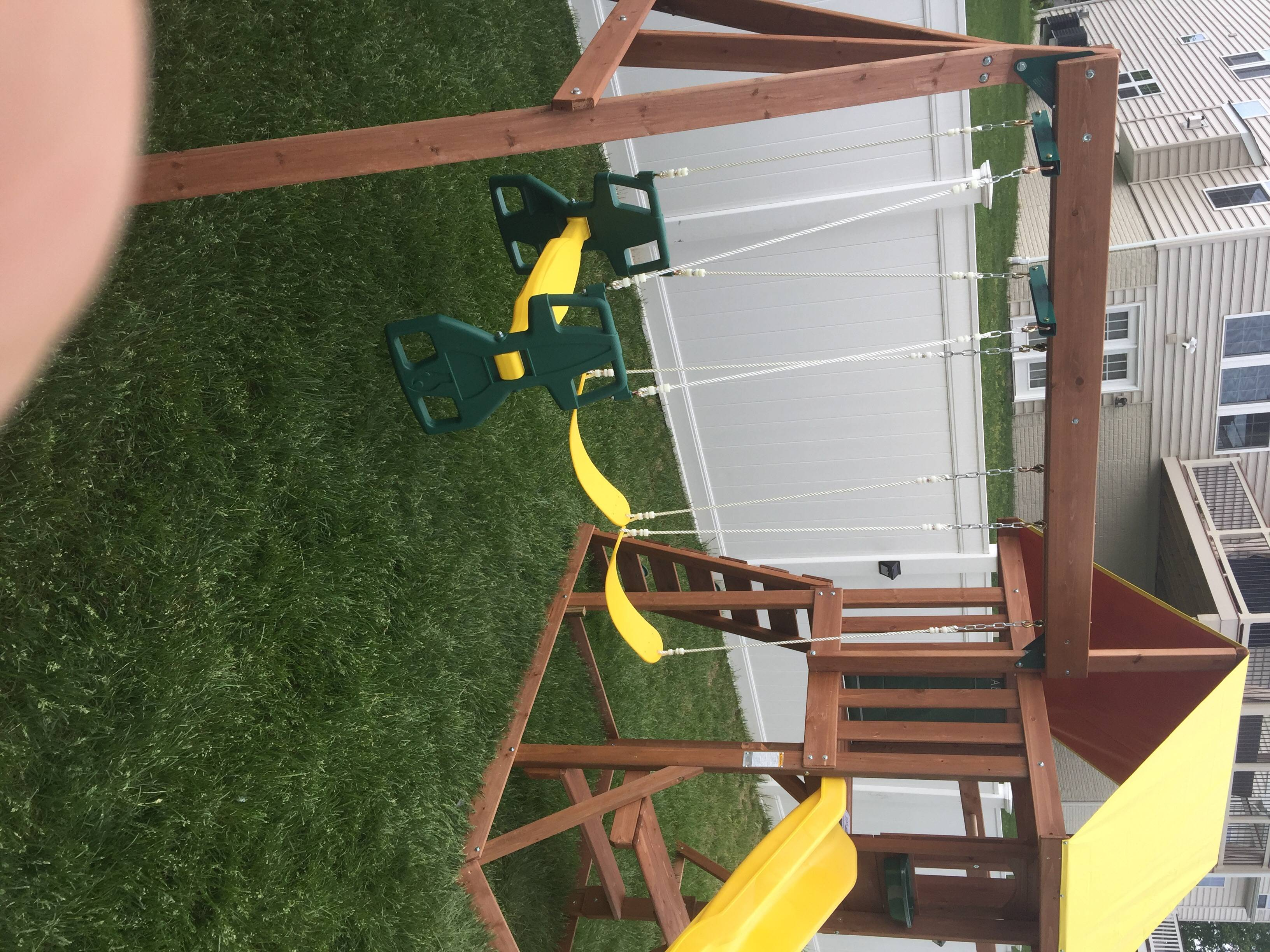 swing set installers in damascus MD