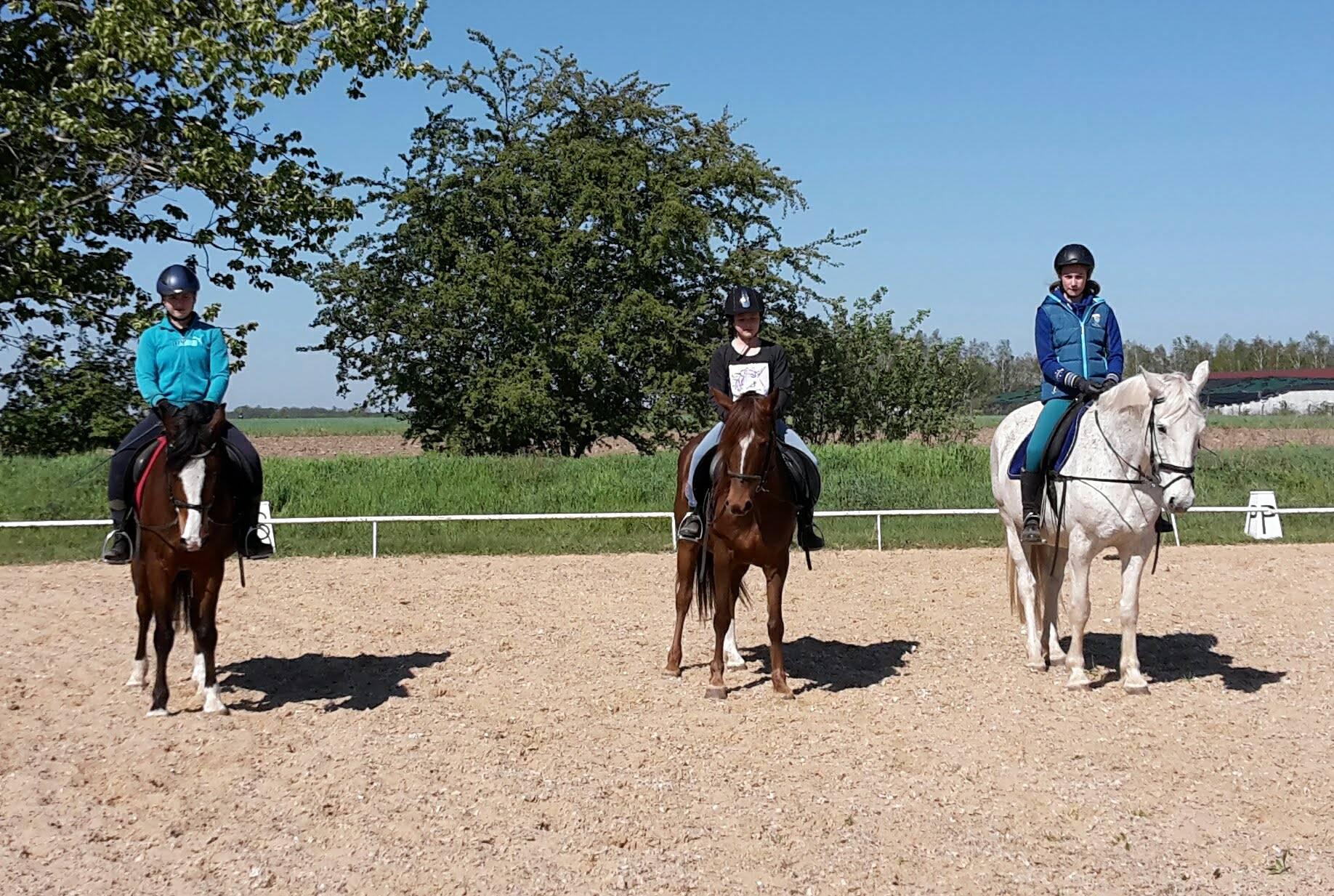 Svenja, Linda und Lara