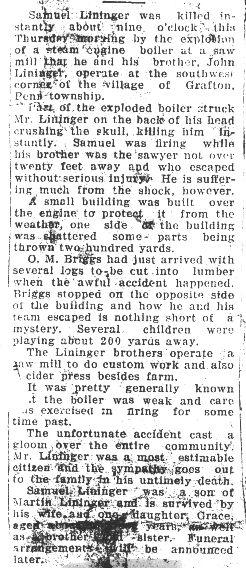 Lininger, Samuel 1924