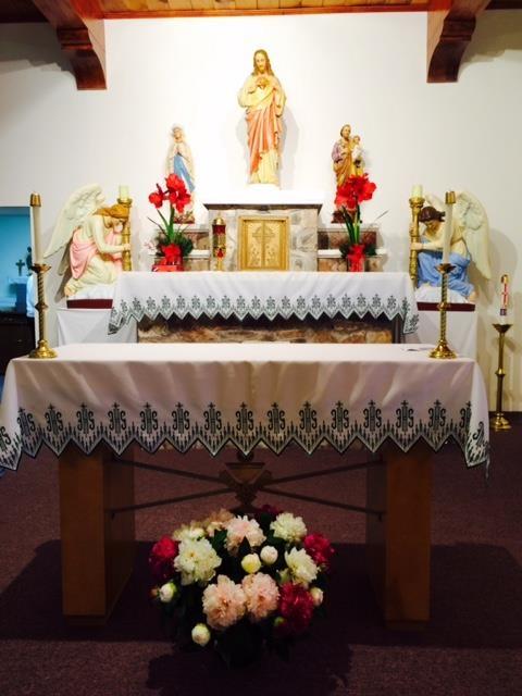 Sacred Heart Mission Altar
