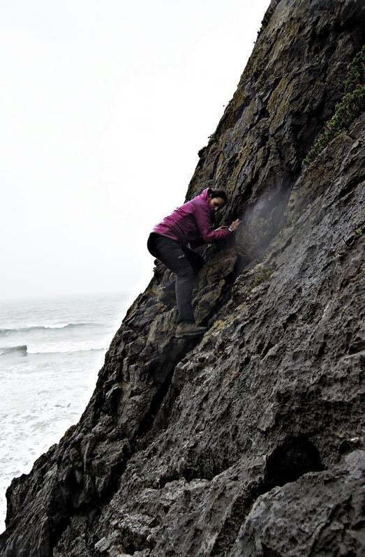 the climb back - now it's raining