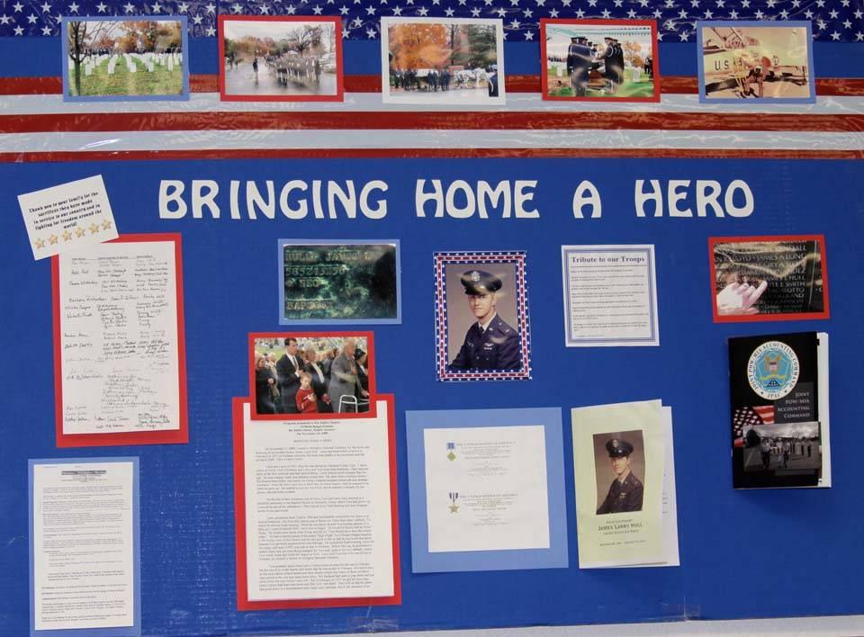 Bringing Home a Hero