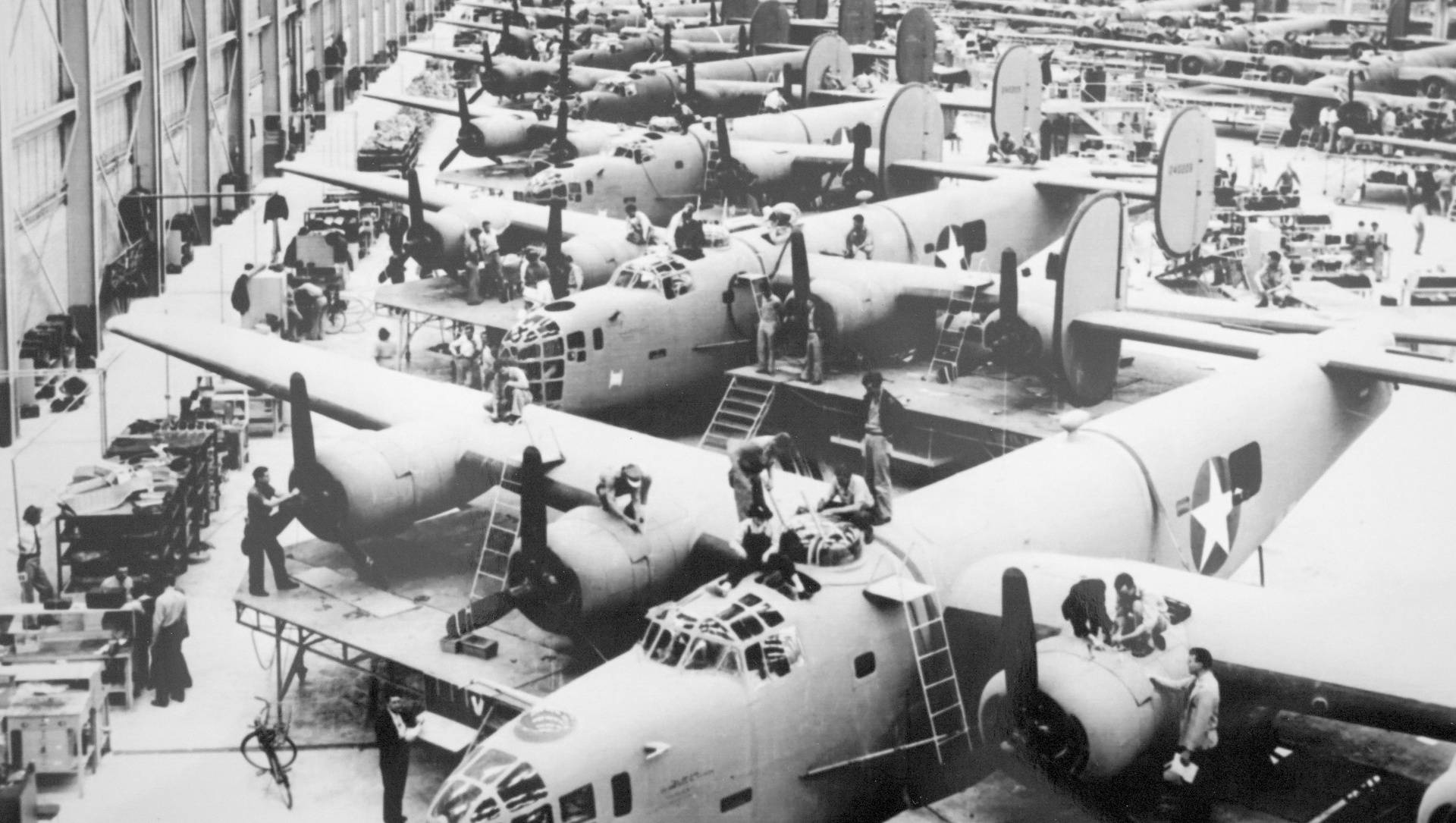 Willow Run assembly plant in Michigan