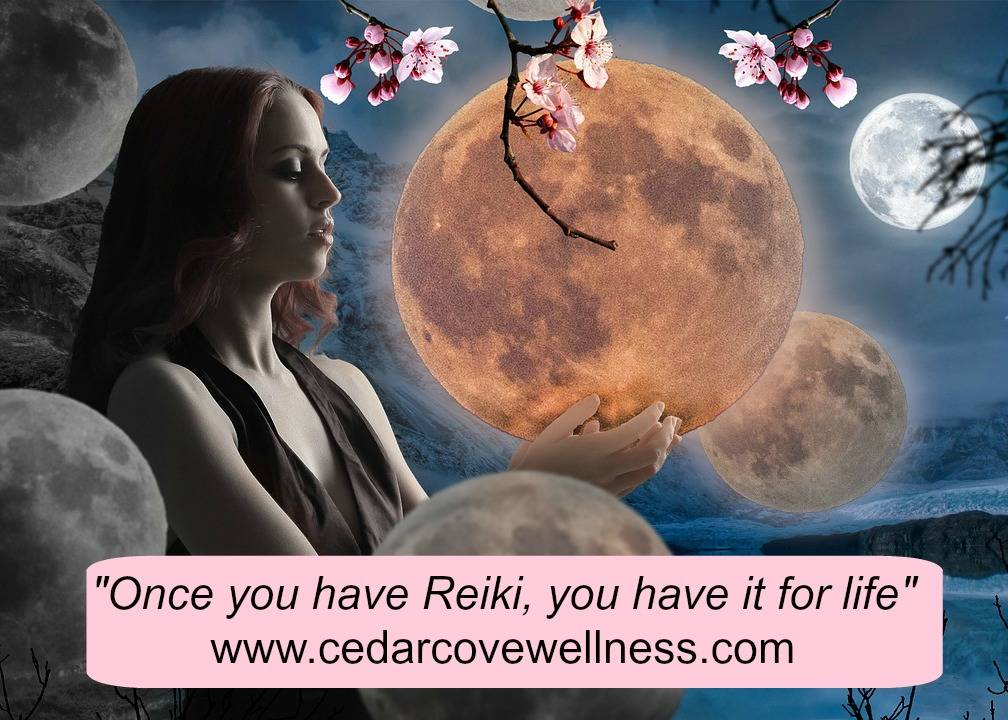 Once You have Reiki, you have it for life.