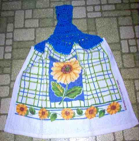 Summer Sunflower Kitchen Towel