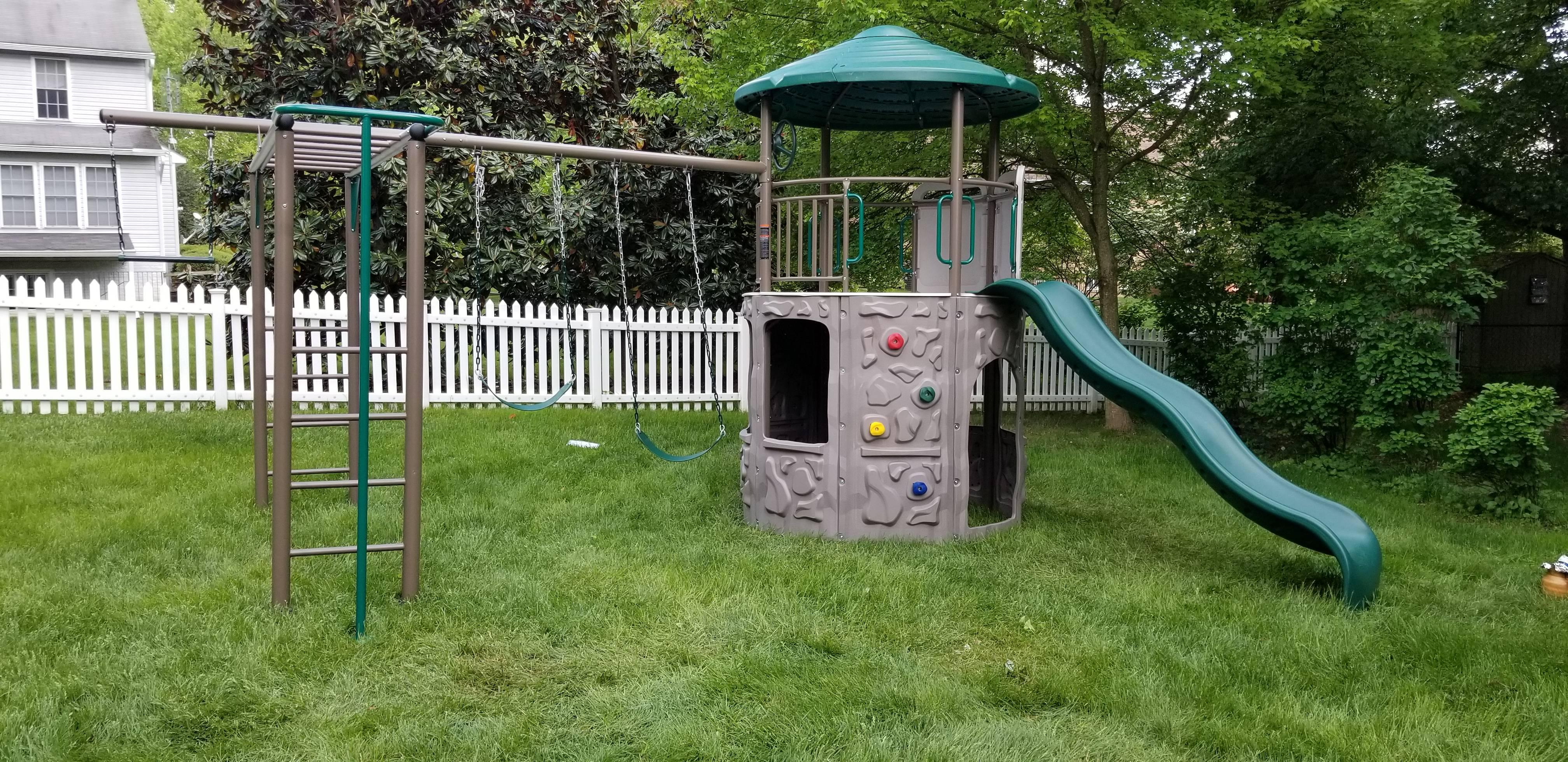 swing set installers in brooklyn MD