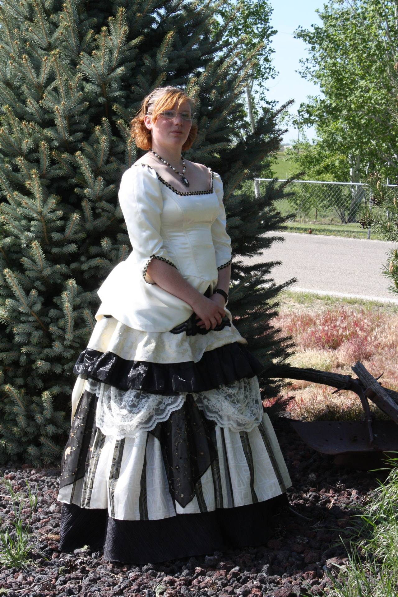 Amanda's 7-Layer Prom Dress