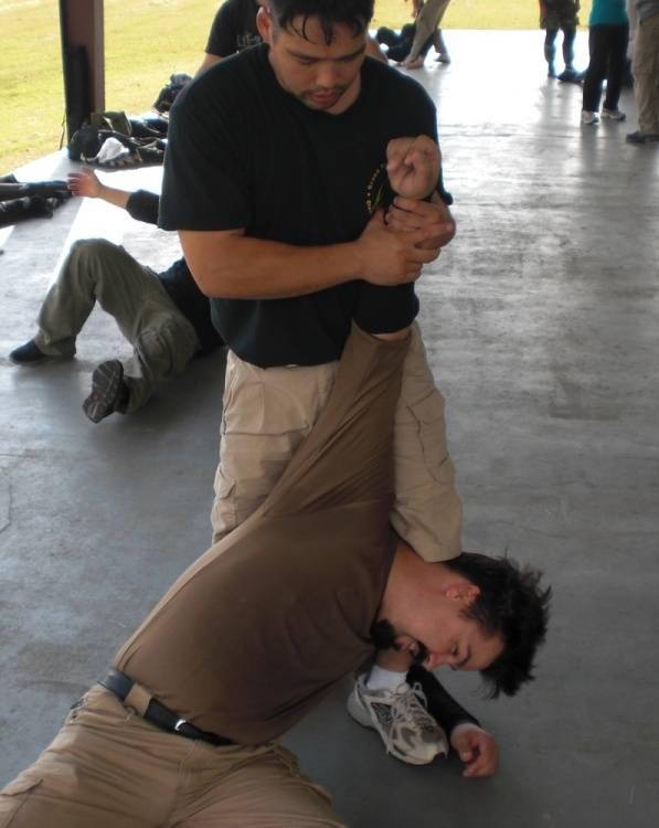 Armbar on Damian
