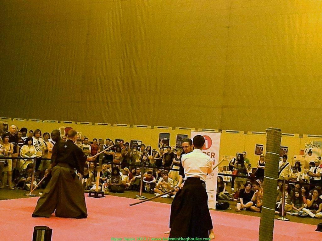 Martial arts Stage - Sword masters