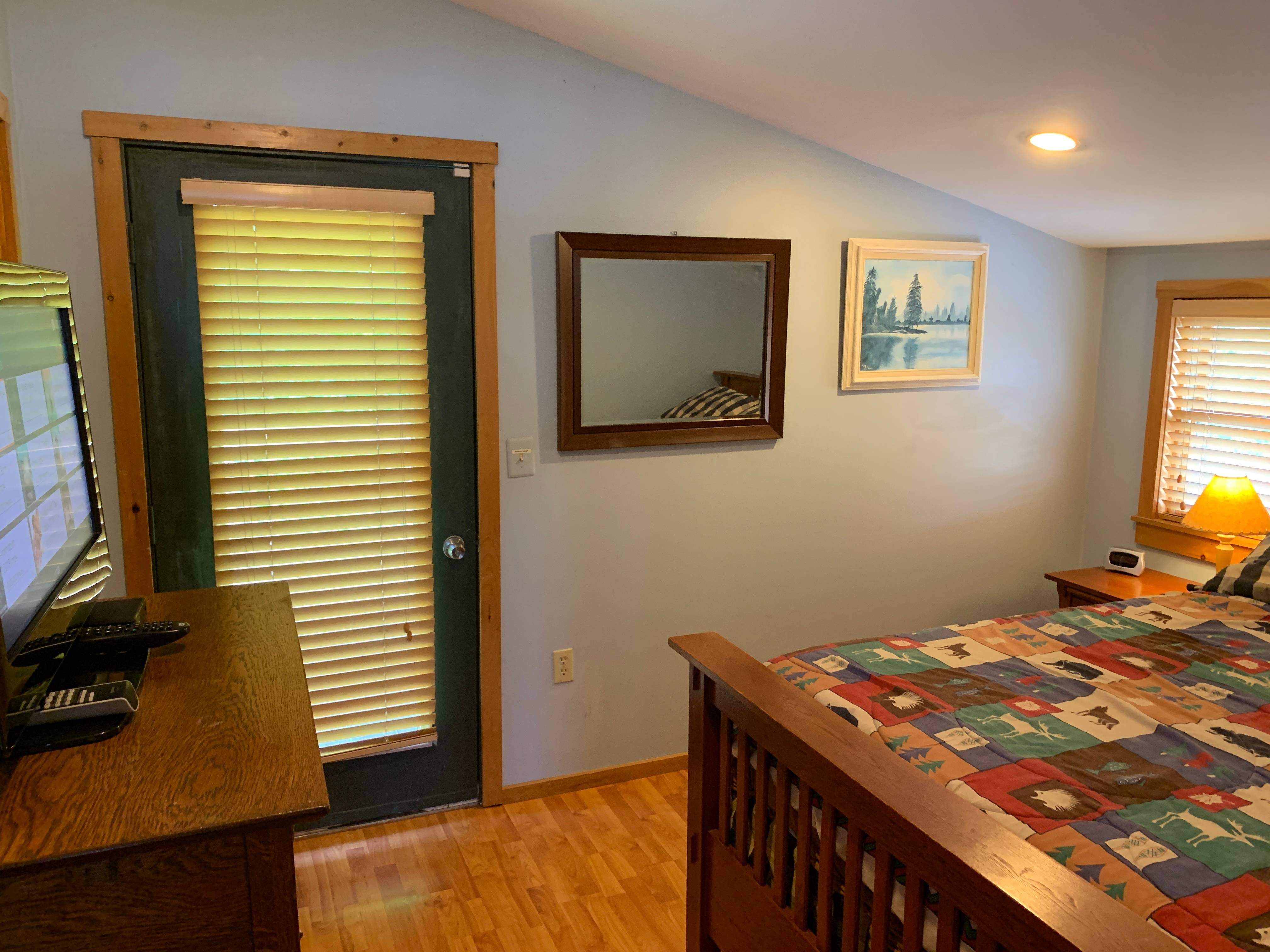 Upper right bedroom