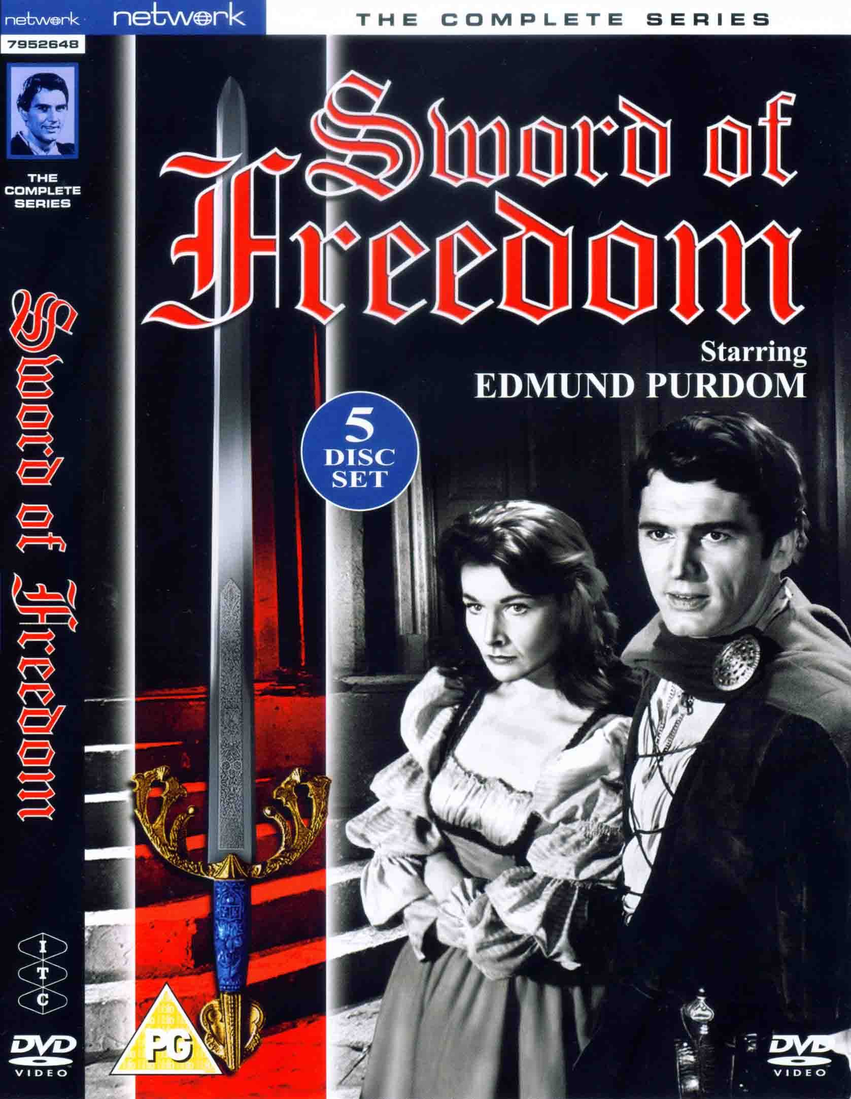 Sword of Freedom - Complete Series DVD Set (UK reg. 2 release)