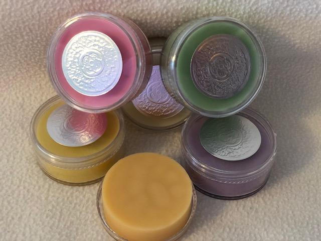 Solid Lotion Bars  -  1.5 oz Jar