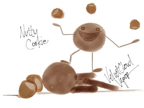 Nutty Cookie Velvet Cloud E Juice