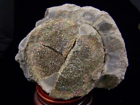 09-00410 Chalcopyrite Geode