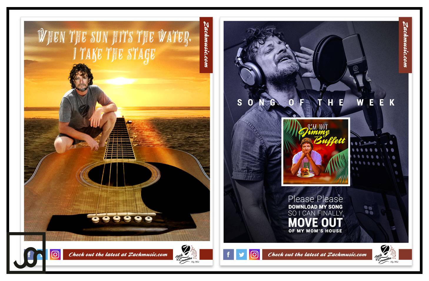 Key West Musician Online Ads