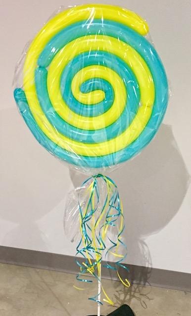 Balloon Lollipop Swirl
