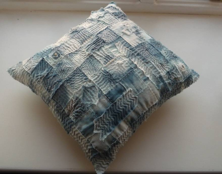 Therapy cloth now a cushion
